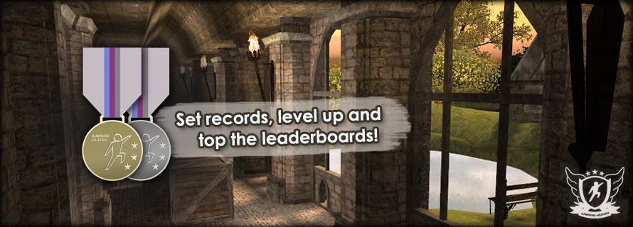 Set records, level up and top the leaderboards!
