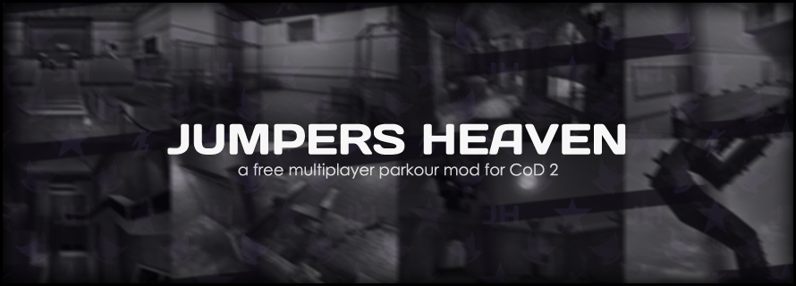 Jumpers Heaven - a free multiplayer parkour mod for Call of Duty 2
